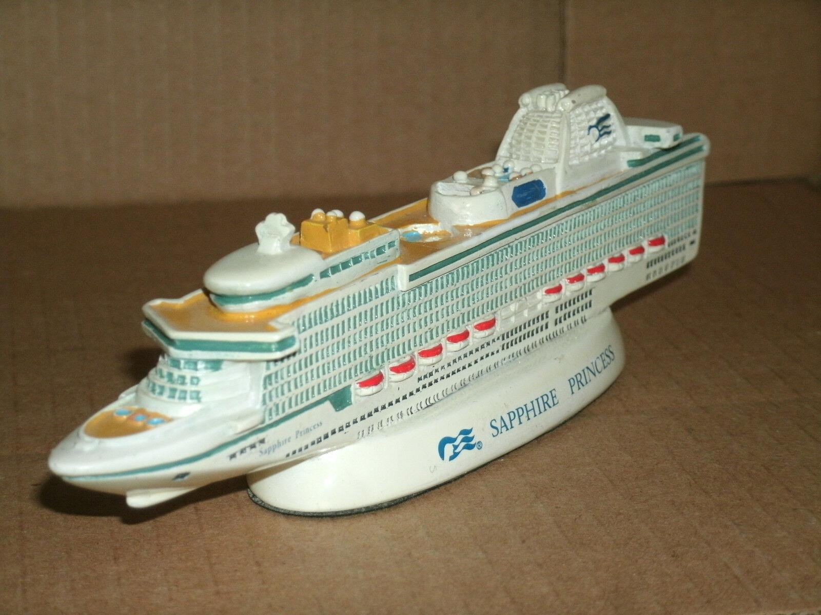 1 1740 Scale Sapphire Princess Cruise Ship Resin Model Collectible 6.5  Replica