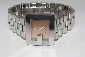 3012e56c7de Image is loading Gucci-Stainless-Steel-3600J-G-Watch