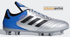 SCARPE-CALCIO-ADIDAS-COPA-18-3-FG-DB2463-col-grigio-azzurro-nero