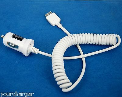 5V 2A High Power Fast In-vehicle Car Charger WHITE for Samsung Galaxy S5 SM-G900