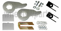 Lift Kit Chevy 1999-06 1500 4x4 Forged Torsion Keys 2 Aluminum Blocks Shock Ext