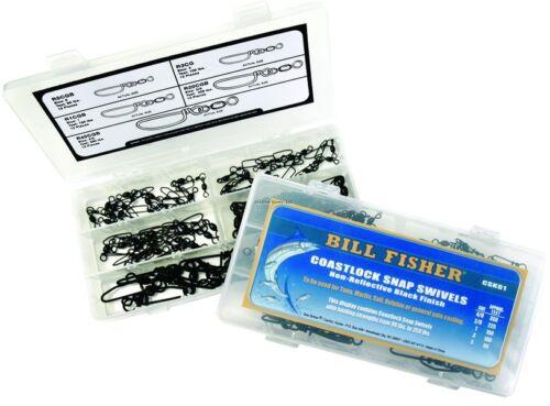 Nouveau billfisher Coastlock Swivel Kit 60Pcs CSK61