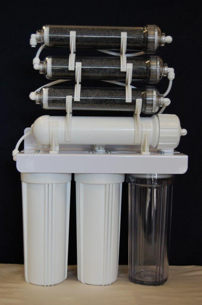 Oceanic 7 Stage DI Aquarium Reef Reverse Reverse Reverse Osmosis RO DI Water Filtration System 45d673
