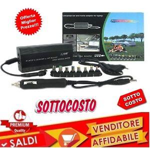 ALIMENTATORE-UNIVERSALE-120W-NOTEBOOK-PC-PER-AUTO-12v-E-CASA-220v-USB-UNIVERSALE