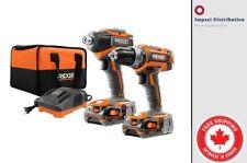 RIDGID GEN5X 18V  Brushless Cordless Drill/Driver and Impact Combo Kit R9603