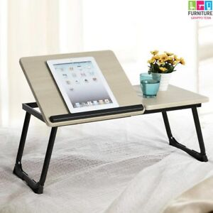 Tavolino-Vassoio-da-Letto-Divano-per-Notebook-PC-Laptop-Pieghevole-Leggio-65x30