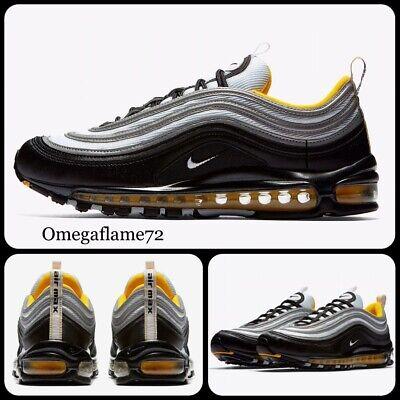 Nike Air Max 97, Steelers, Tg. UK 6, UE 39, US 6.5, 921826 008, Amarillo, Nero | eBay