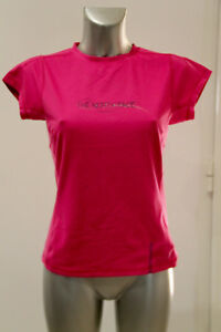 a21b3037a9133 joli tee shirt stretch rose THE NORTH FACE vapor wick taille M/M (36 ...