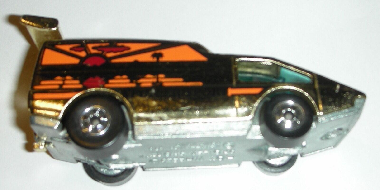 Gold Spoiler Sport 1976 Hot Wheels Die-Cast Car Loose Made in Hong Kong 1 64