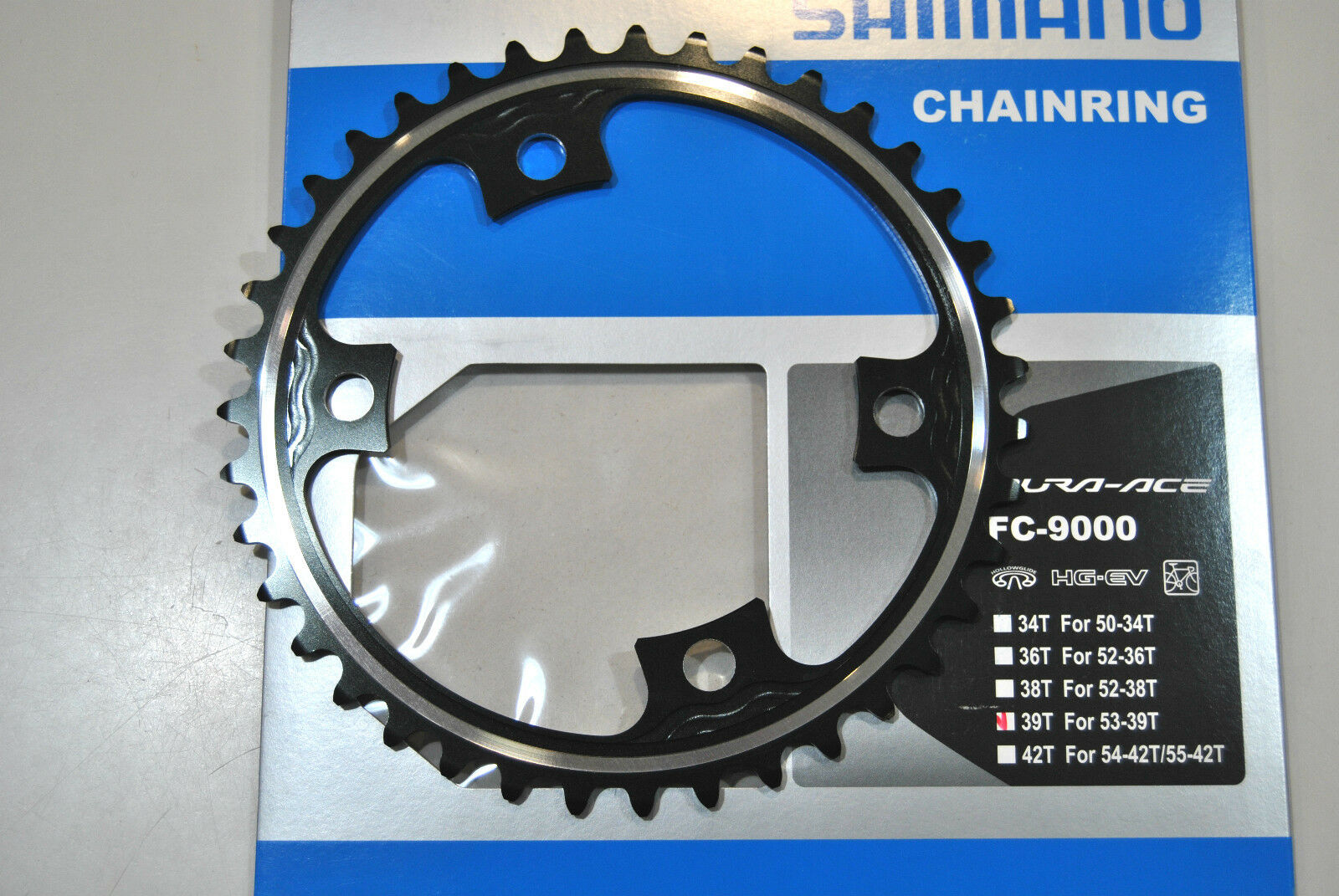 PLATEAU SHIMANO DURA ACE 39T  MD FC-M9000 ( 53x39 ) Plateau SHIMANO 39T MD FC-M9  welcome to order