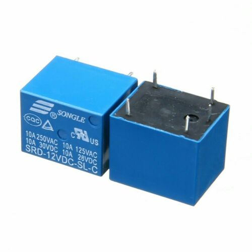 2pcs//5pcs//10pcs //set Original SONGLE SRD-12VDC-SL-C Power Relay T73-12V 10A