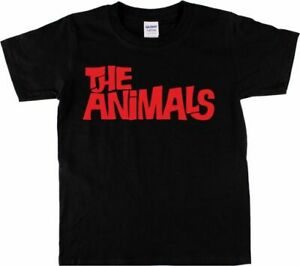 The-Animals-T-Shirt-1960-039-s-Blues-Rock-n-Roll-Band-Mod-Various-Colours