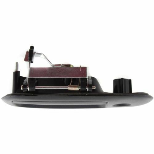 For Express 2500 96-02 Driver Side Exterior Door Handle Front Smooth Black