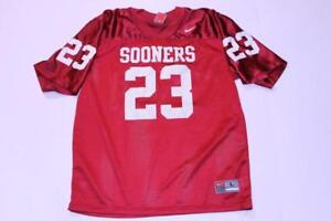 buy online 3dde3 d76f7 Details about Youth Oklahoma Sooners #23 L Football Jersey (Maroon) Nike  Jersey