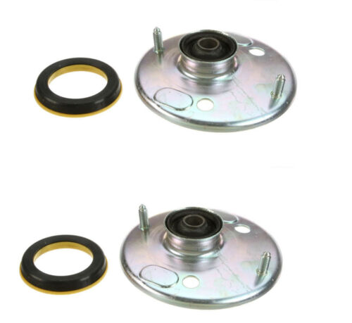 Bearings for Volvo 2 URO Left+Right Front Shock Strut Mounts Bushings Mounting