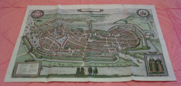 Herzhaft Blick Auf Hamburg Um 1600 - Replikat GroßE Sorten