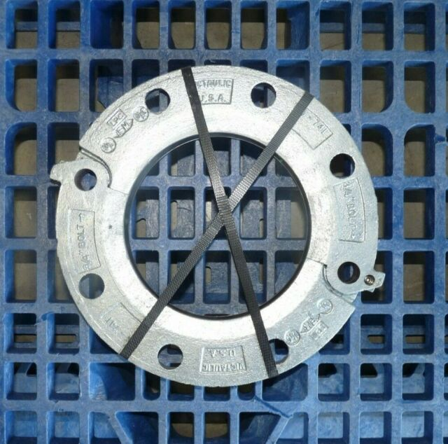 """Victaulic Style 441 Stainless Steel Vic-Flange Adapter 3/"""" Diameter w// E-Gasket"""