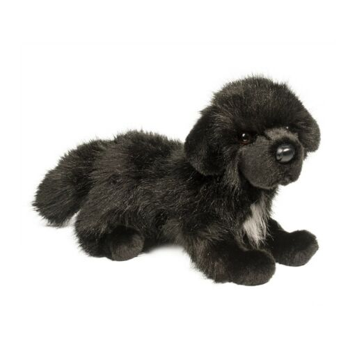 """Neufundländer /""""Bundy/"""" schwarz HUND Plüschtier Stofftier Cuddle Toys Plüsch 28cm"""