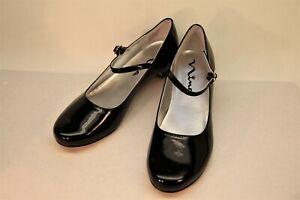 Nina Girls Seeley Heel Mary Jane Shoes