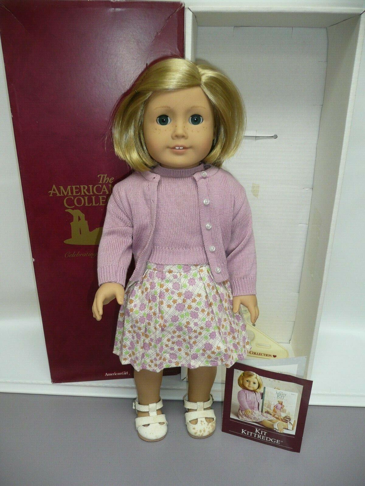 American Girl Pleasant Company Kit Kittrotge in Box, Original Clothes & Brochure