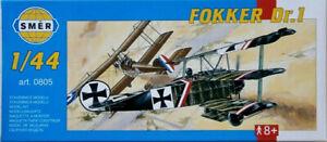 Fokker-Dr-I-Triplane-As-Baumer-Jacobs-1-44-Modele-Kit-Smer-0805