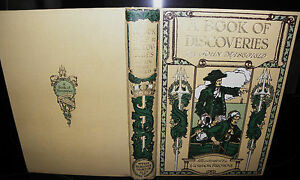 A-Book-of-Discoveries-Illustrated-John-Masefield-c1920-HB-vin2