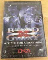 Tna Wrestling - Bound For Glory 2005 (dvd, 2006) Wwf Wwe Ecw Wcw Nxt
