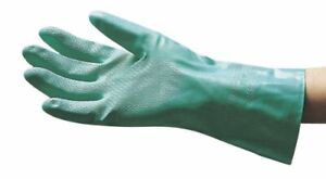 Sas Safety 6533 1-pair Of Unsupported Nitrile Flock-lined Painters Gloves, Size
