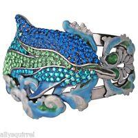 Kirks Folly Princess Of The Seas Dolphin Cuff Bracelet St Size Average