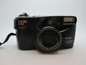 Olympus OZ80 Zoom AF Panorama 38-80mm 35MM Film Camera TESTED WORKING