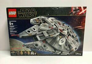 Lego 75257 Star Wars Millennium Falcon New US Seller