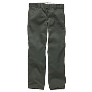 DICKIES-Original-873-coupe-slim-droite-charbon-gris-pantalon-de-travail