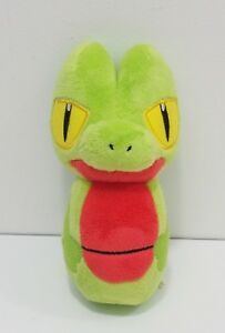 Treecko-Pokemon-Center-2004-Bowling-pin-Stuffed-Plush-Toy-Doll-Japan