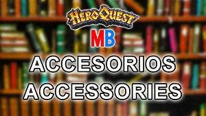 Accessories/' HeroQuest MB Multi-Anuncio Accesorios Hero Quest 2