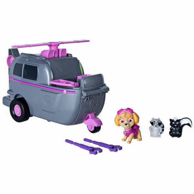 Paw Patrol Skye's Ride 'n' Rescue Transforming 2-in-1 Playset & Helicopter