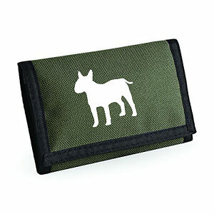 English-Bull-Terrier-Gift-Wallet-Rip-Stop-Choice-of-Colours-Purse-Birthday-Xmas