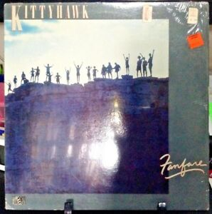 KITTYHAWK-Fanfare-Album-Released-1984-Vinyl-Record-Collection-US-pressed