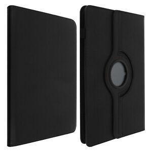 Housse Tablette 10 pouces Étui Universel Clapet Fonction Stand Rotatif 360° Noir