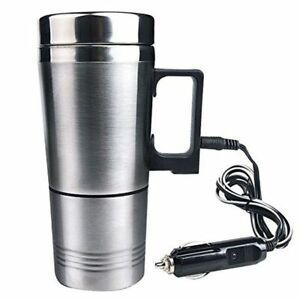 Stainless-Steel-Electric-Kettle-Water-Heater-Mug-Car-Cigarette-Lighter-Plug-Cup