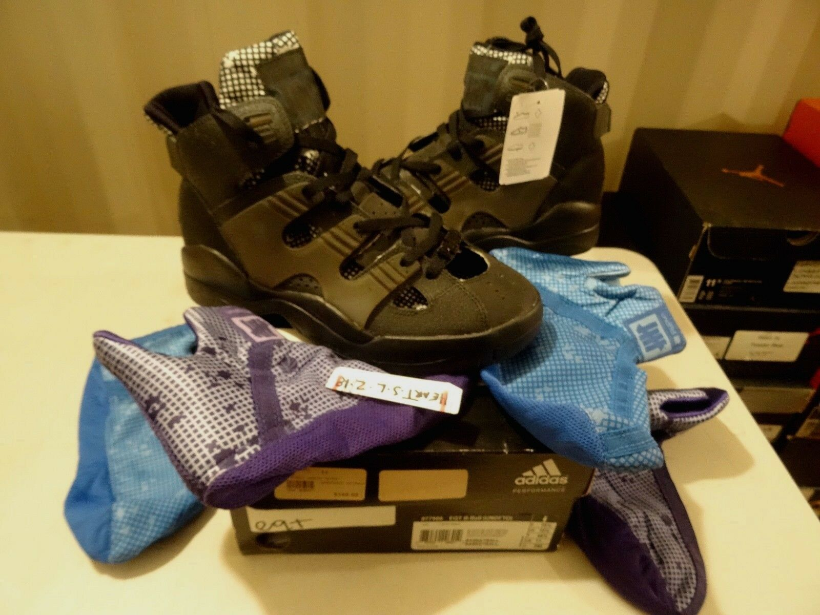 NEW Adidas x Undefeated KOBE 8 EQT B-Ball UNDFTD nero 0077986 SZ 13 YEEZY NMD