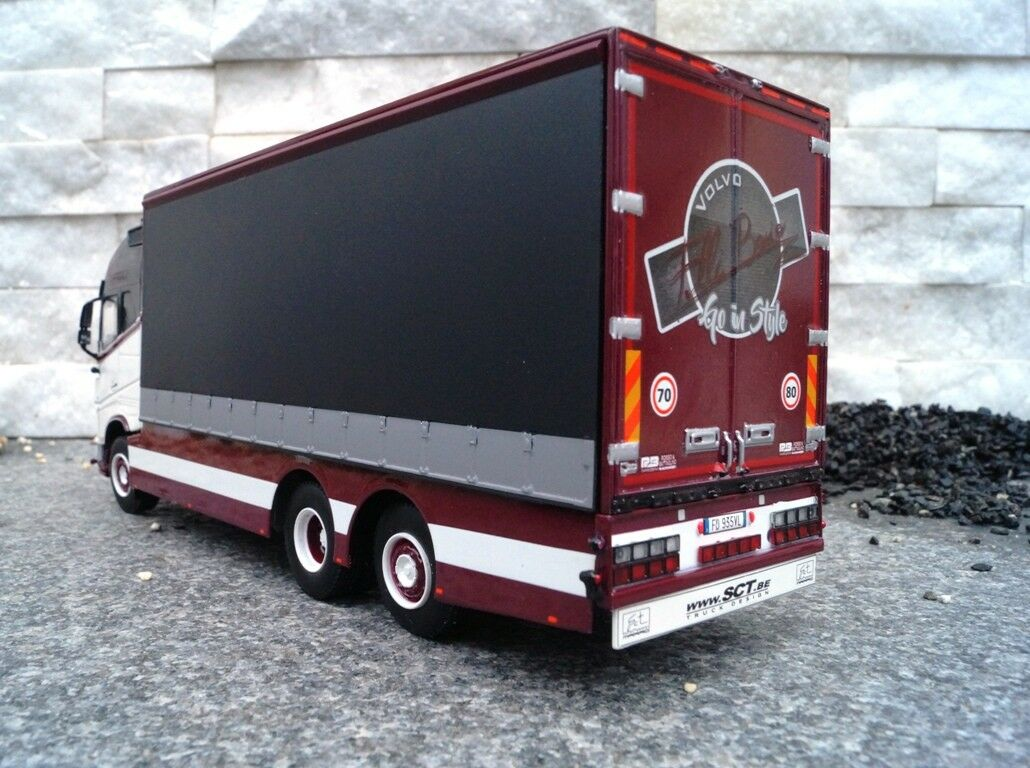 WSI volvo fh4 GL XL 3 EURO, 6x2, 6x2, 6x2, rideaux construction-BOSIO