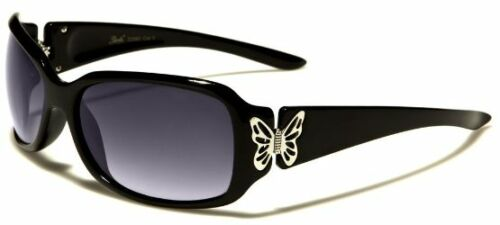 Nouvelle marque dames Giselle Femmes Fille Designer Vintage Noir UV400 Lunettes de soleil