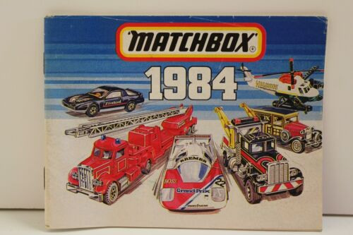 """Matchbox Catalogue /""""1984 U.K 64 Pages /"""" Edition"""