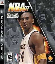 Nba 07 Sony Playstation 3 2006 For Sale Online Ebay
