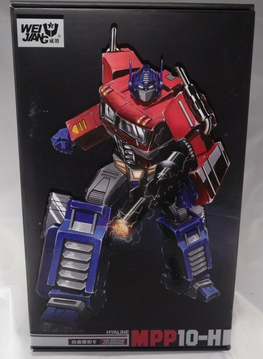 Weijiang MPP-10H Optimus Prime Oversized + Transparent Trailer