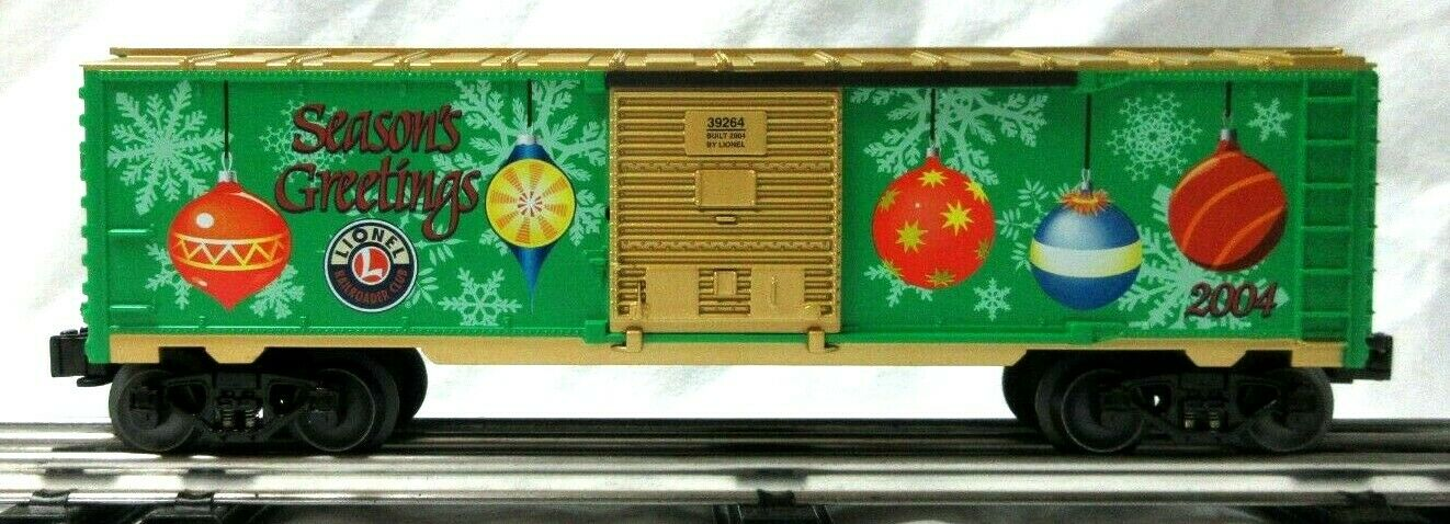 Lionel 639264 LRRC 2004 HOLIDAY scatolaauto