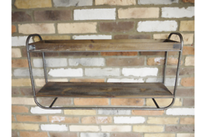 Industrial-Style-Double-Wooden-Shelves