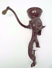 Vintage S.H. Co Koffee Krusher St Louis No 10 Counter Table Mount Coffee Grinder