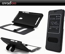 avadoo® Asus Zenfone 5 Flip Case Cover Tasche Hülle schwarz