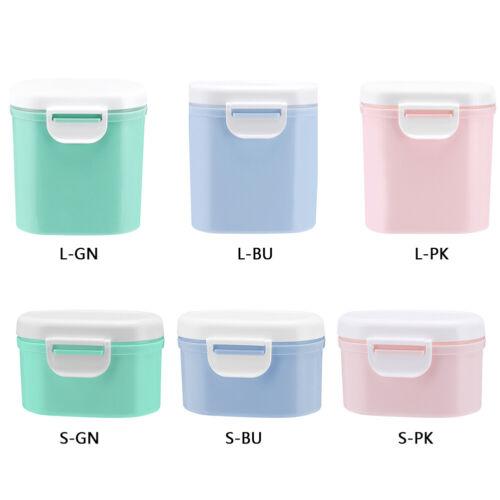 Baby tragbare Aufbewahrungsboxen Milchpulver Speicher Lagerung Box Organizer